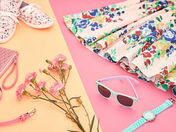 Флорални рокли